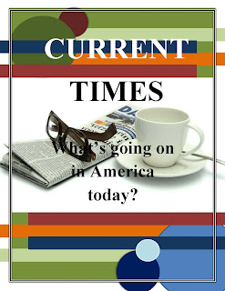 &quot;current times&quot; display poster