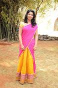 kruthika jayakumar half saree stills-thumbnail-14
