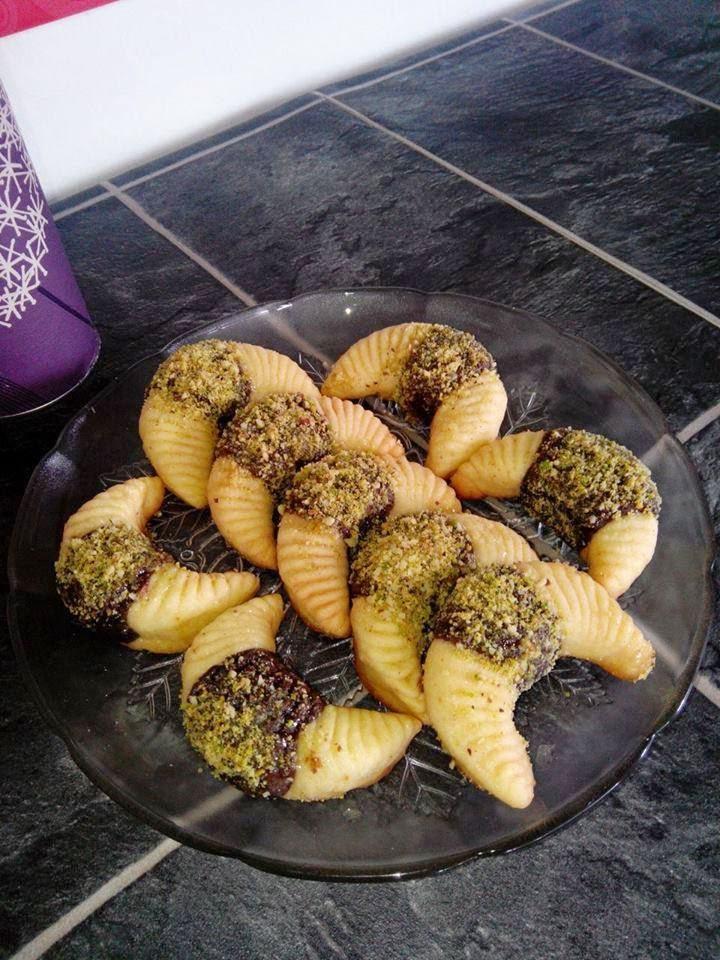 Recette kaâk elmocht- biscuits de peigne à cheveux