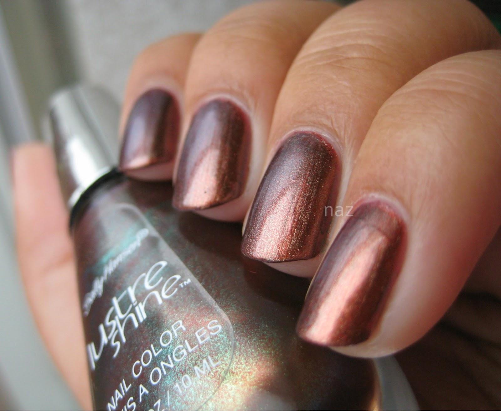 Naz\'s Nails: Sally Hansen Lustre Shine Copperhead
