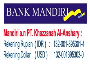 Rekening Bank Khazzanah Tour