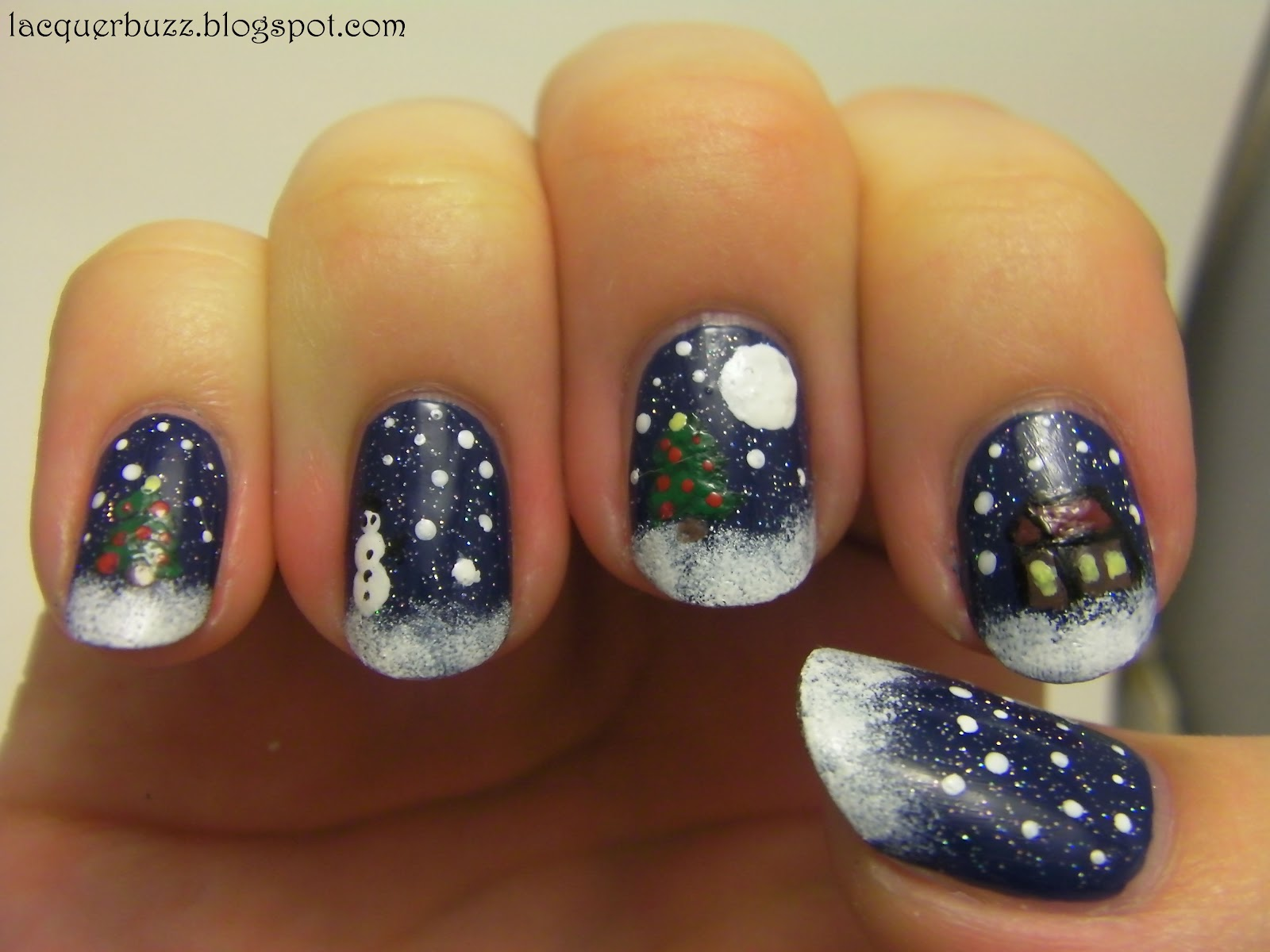 Lacquer Buzz: Twas the night before Christmas