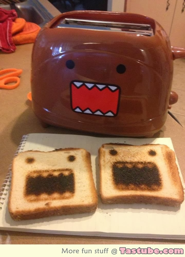 Lovely toaster and Bread Piece