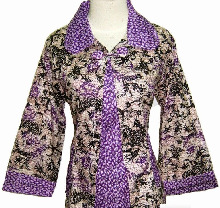 Gambar Model Baju Batik 2015