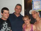 Minha irmã Roseli, Meu cunhado Otavio, sobrinhos, Rodrigo e Diego!