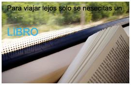 viajando lejos con los libros