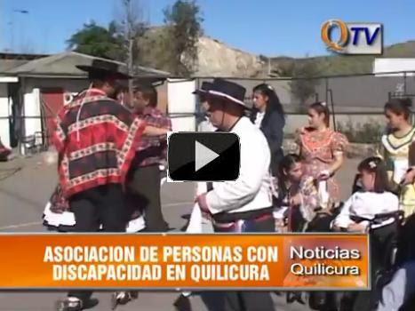 Asaciación de Personas con Discapacidad Celebra Fiestas Patrias en Quilicura
