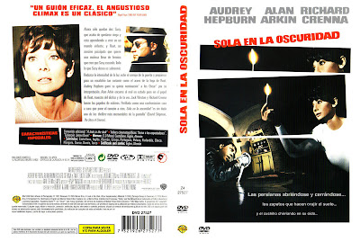 Caratula, cover, dvd: Sola en la oscuridad | 1967 | Wait Until Dark