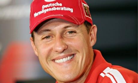 Schumacher salio del coma