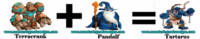 como obtener el monster tartarus en monster legends formula 2
