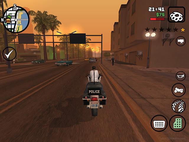 GTA San Andreas 1.08 Apk + Data + Mod  Full İndir