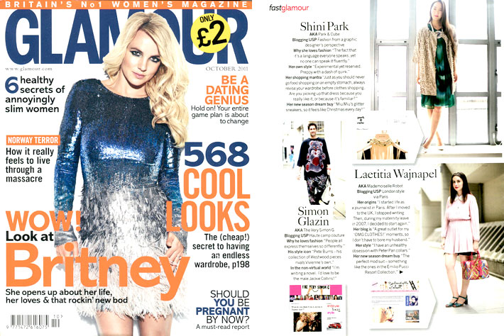Glamour - October 2011 - Style Tribe