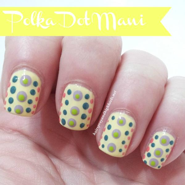 Polka Dot Manicure