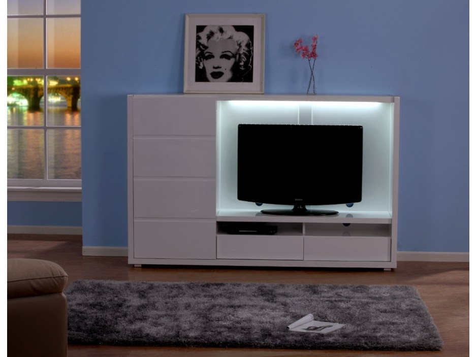 meuble tv avec rangement meuble tv. Black Bedroom Furniture Sets. Home Design Ideas