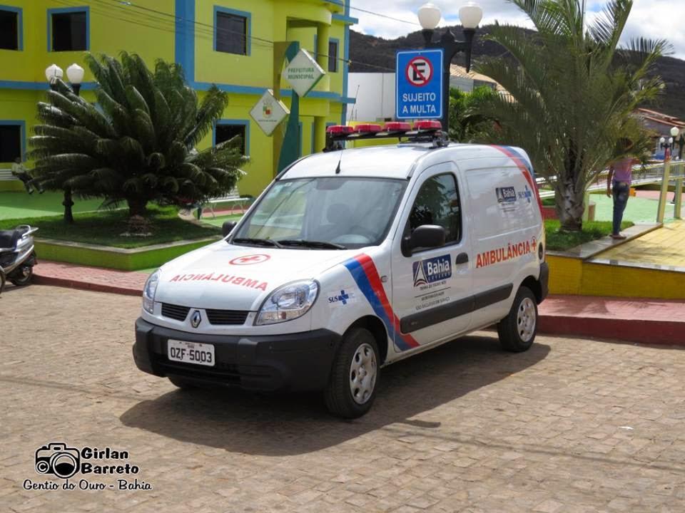 Deputado Fabrício Falção faz doação de uma ambulância para o município de Gentio do Ouro