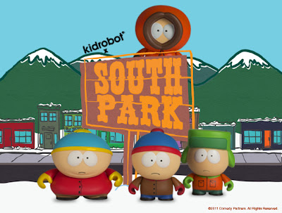 Kidrobot x South Park Mini Series