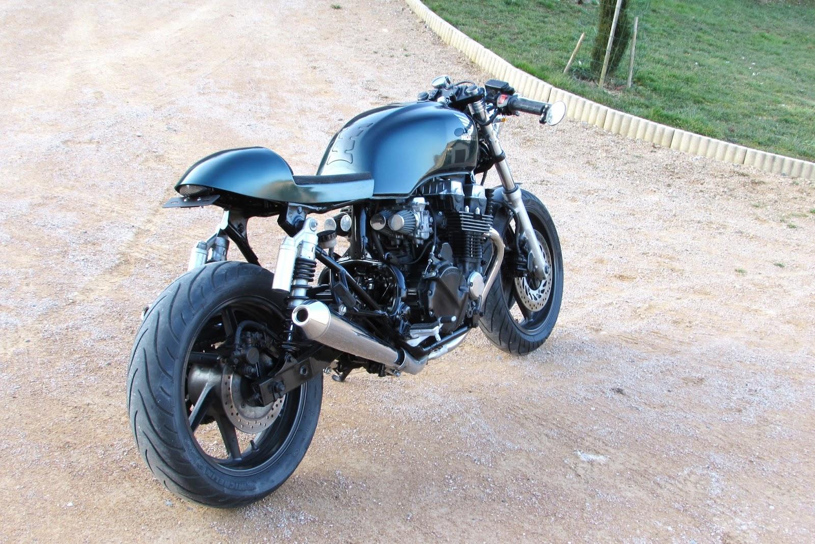 jrf customs moto 750 cb seven fifty caf racer english green. Black Bedroom Furniture Sets. Home Design Ideas