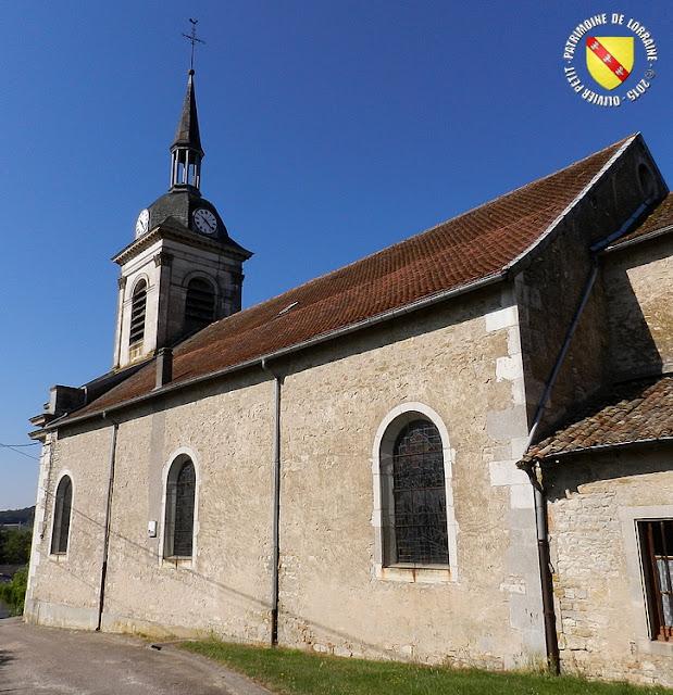 MENIL-LA-HORGNE (55) - Eglise Saint-Bénigne