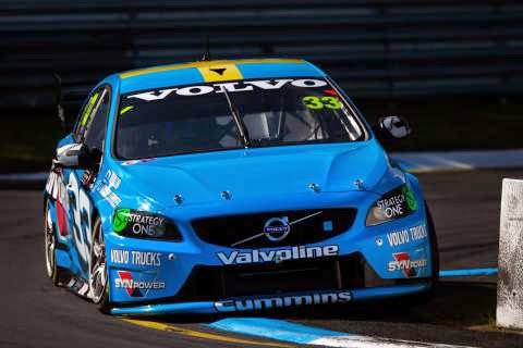 The Volvo S60 Polestar V8 Supercar