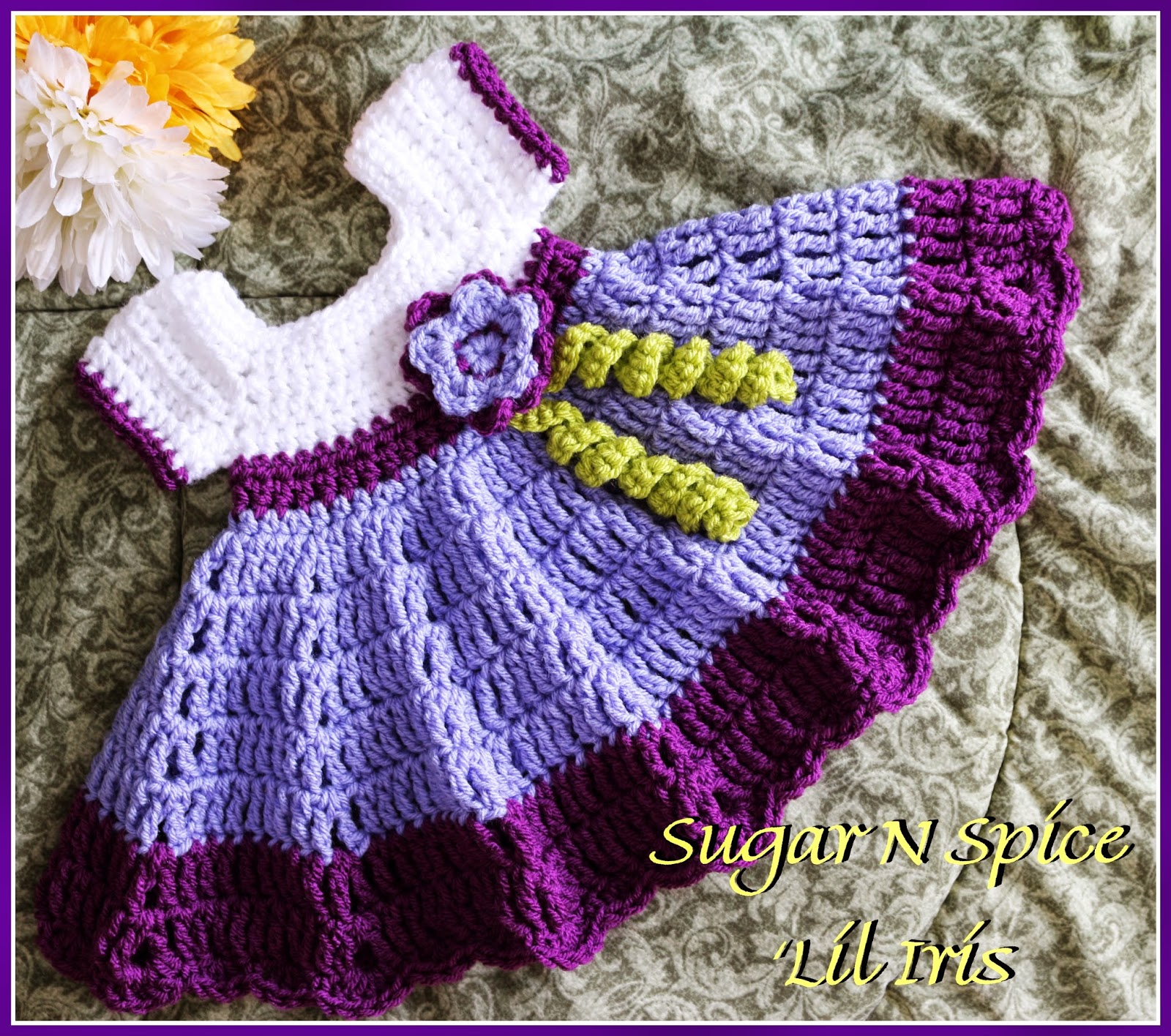 Crochet supernova sugar n spice dress free pattern yesterday i was feeling kind of blah and uninspired i think im going through a winter extended winter funk we just cant seem to stop snowing here in solutioingenieria Images