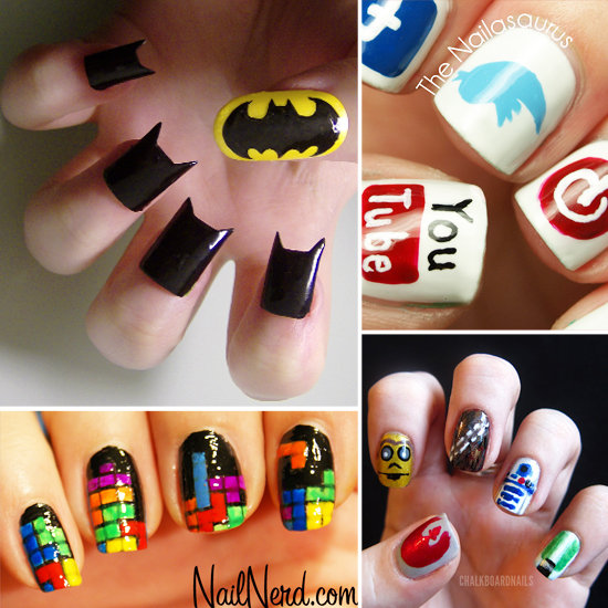 Different types of nails cool new design 39 s of nails Cool nail design ideas at home