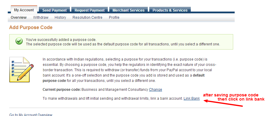 how to add td bank to paypal