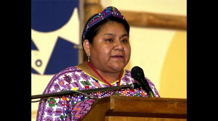 INTERNACIONALES.Rigoberta Menchú se sumó a las voces que exigen derogatoria de decreto injerencista