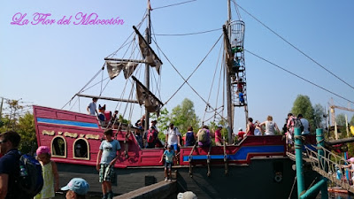 Barco pirata del parque de Playmobil