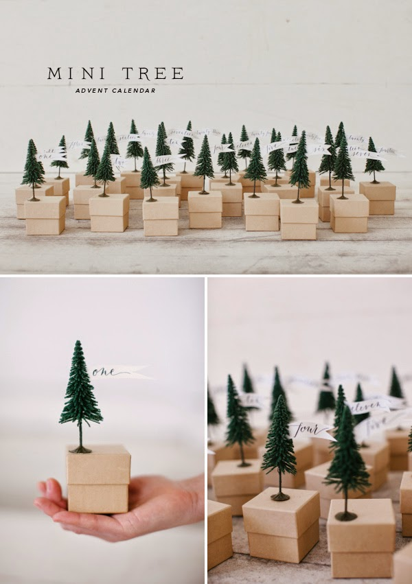 http://ohhappyday.com/2012/11/mini-tree-advent-calendar-free-template/
