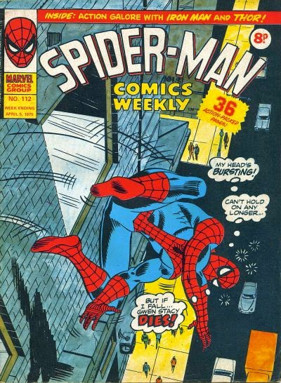 Spider-Man Comics Weekly #112