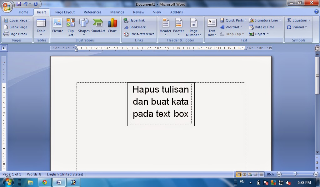 how to delete text box line in word