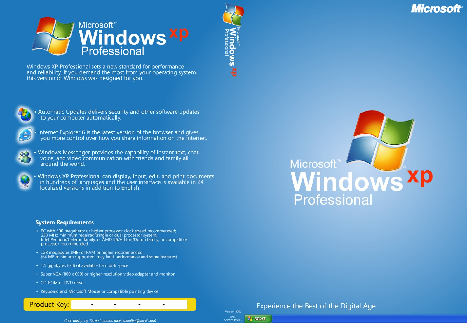 Windows XP Professional SP3 Aug 2014 + Sata Driver