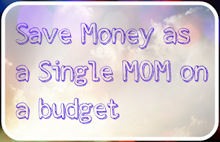 single mom on budget