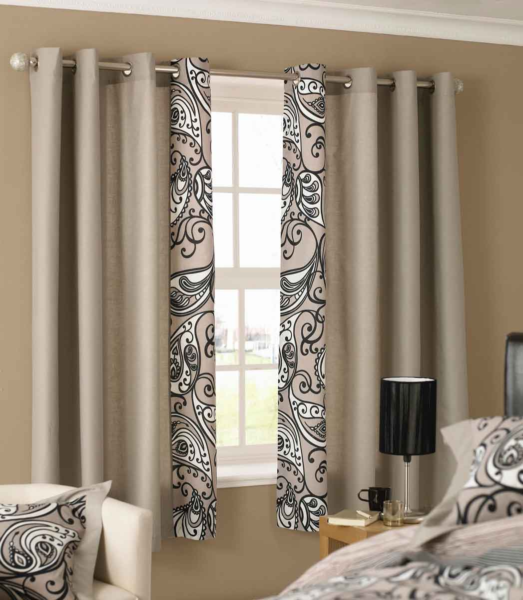 Image small bathroom window curtain ideas beautiful for Bedroom curtain designs photos