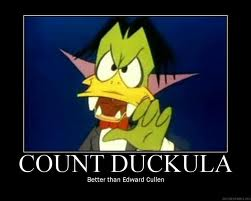 Count Duckula Cute Cartoon