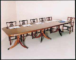 Reproduction boardroom tables