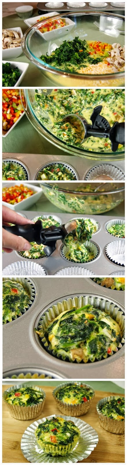 Veggie Quiche Cups To-Go