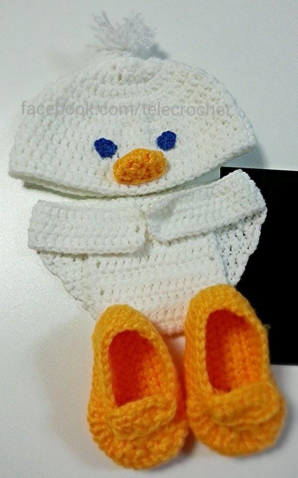 Más que mamá: Disfraz de bebe a crochet