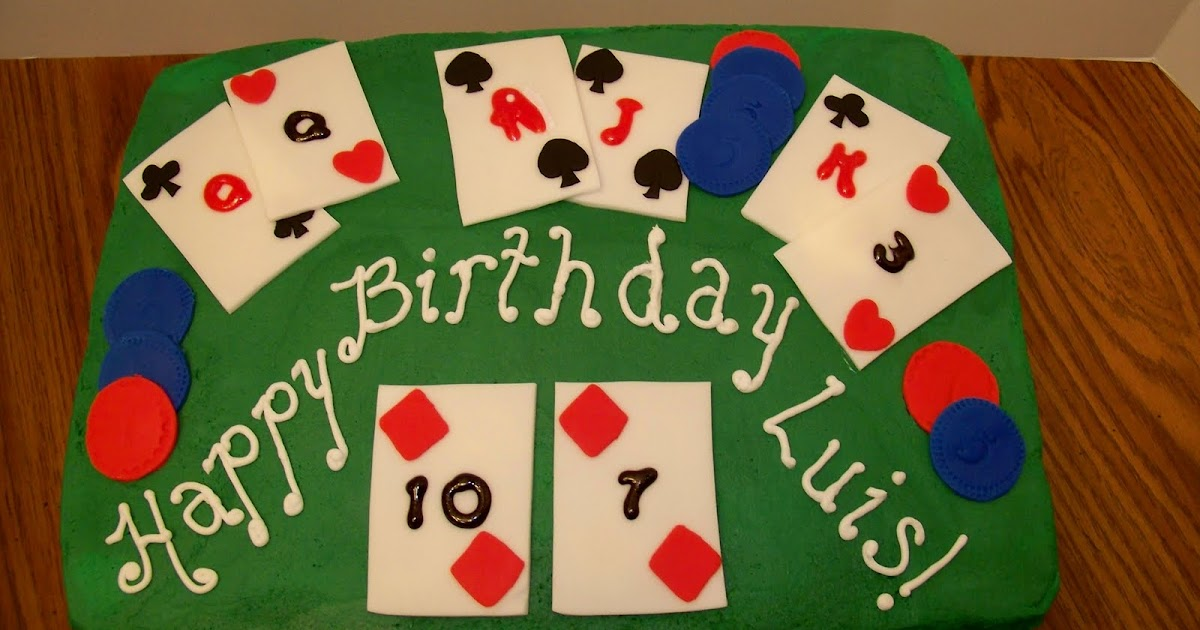 Cake Decorating Pueblo Co : My Cake by Tori: Black Jack Table