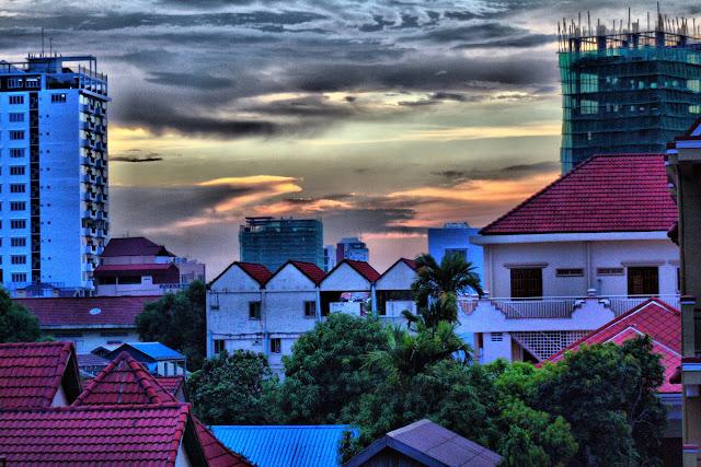 Ciels de Phnom Penh