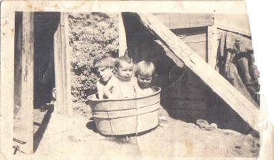 Bath time for (baby) grandma