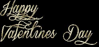 happy valentines day,png,renders,texto,palabras,san valentin,14 de febrero,dorado,clipart,recursos