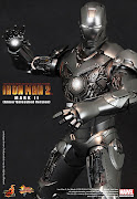 Iron Man Mark II Armor Unleashed (hot toys im iron man mark ii armor unleashed )