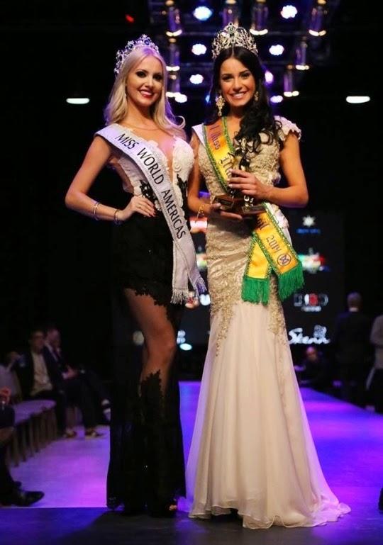 Miss World Mundo Brasil Brazil 2014 winner Julia Weissheimer Werlang Gama