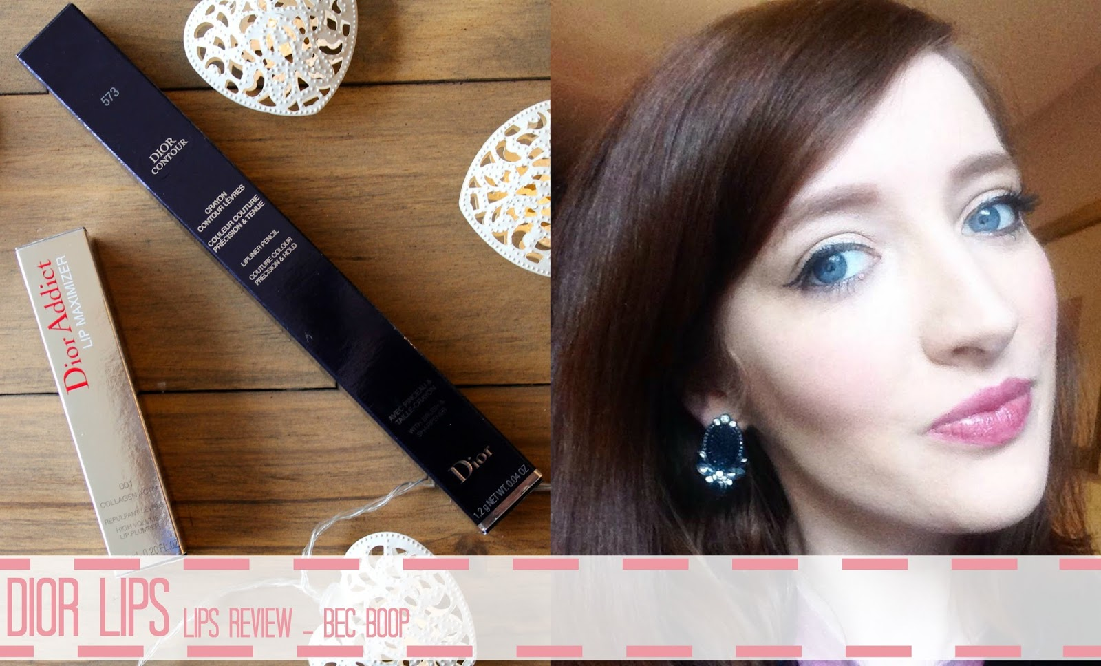 dior lips blog review
