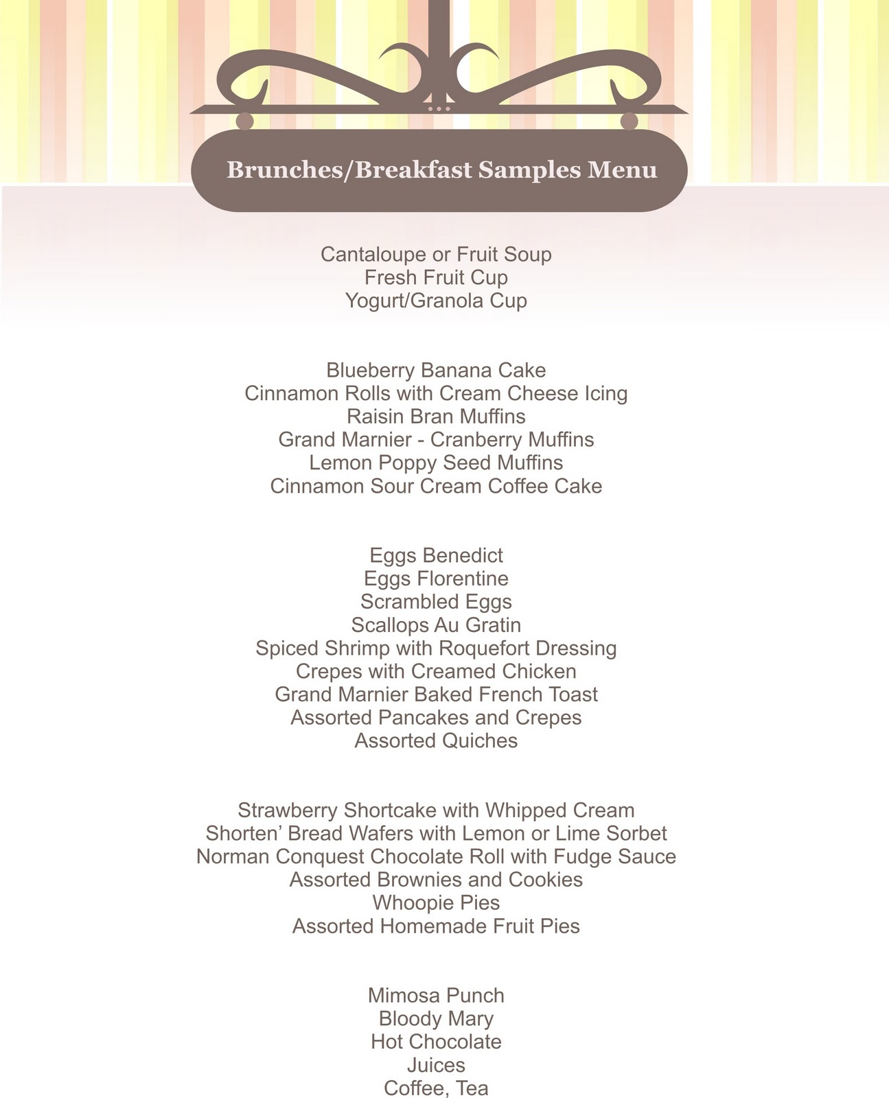 Business Menu Template Choice Image Business Cards Ideas - Small menu template