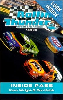 rolling thunder NASCAR books by Don Keith