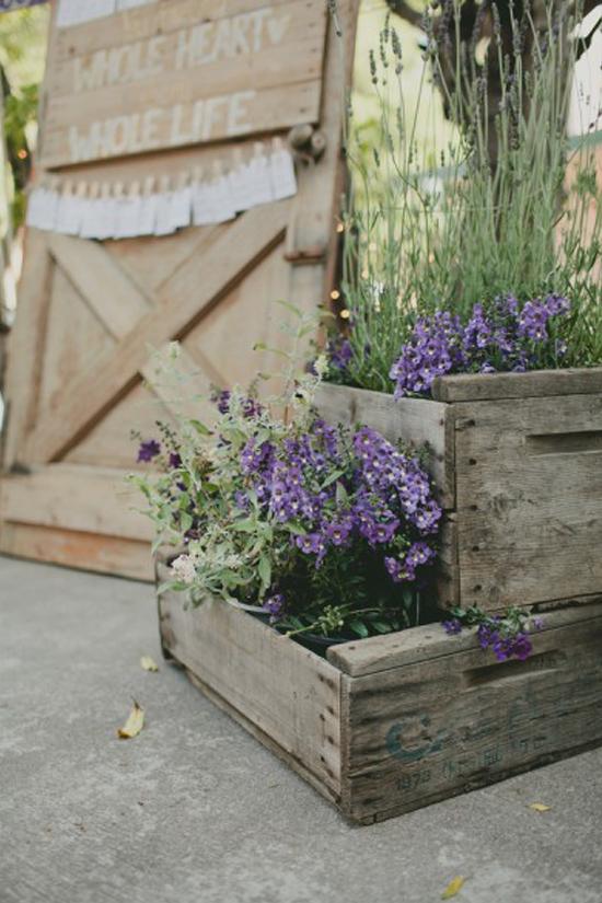 Oh mywedding cajas de madera para decorar la boda - Cajas de madera para decorar ...
