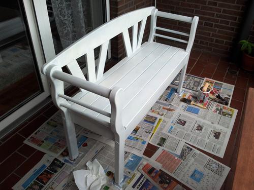 ein haus f r uns einrichtungs garten und baublog mal etwas abseits vom hausbau bank im. Black Bedroom Furniture Sets. Home Design Ideas