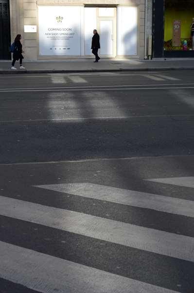 Silhouette macadam - Av. de l'Opéra